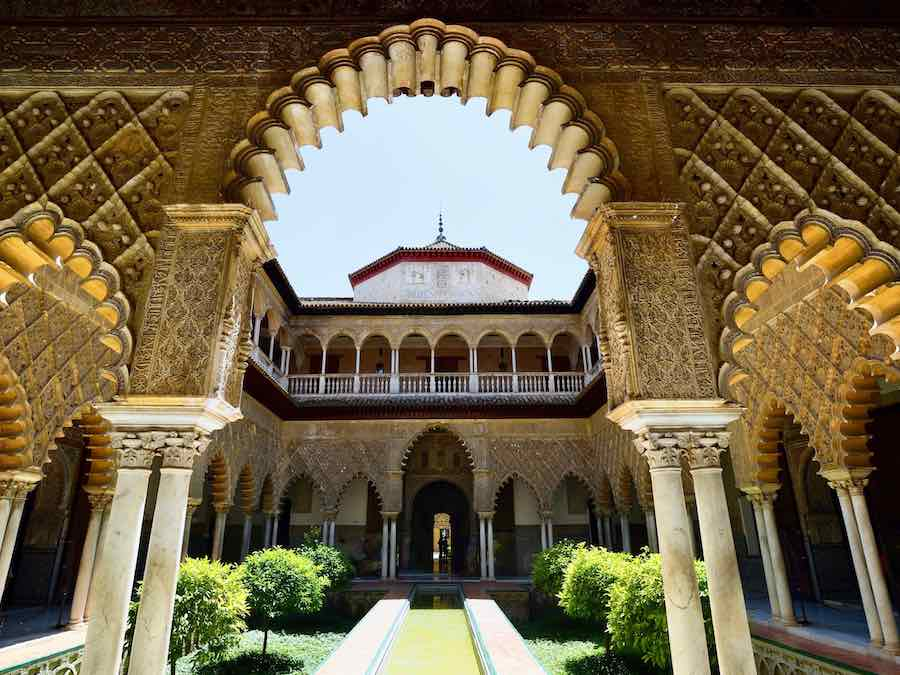 Het Alcazar n Sevilla