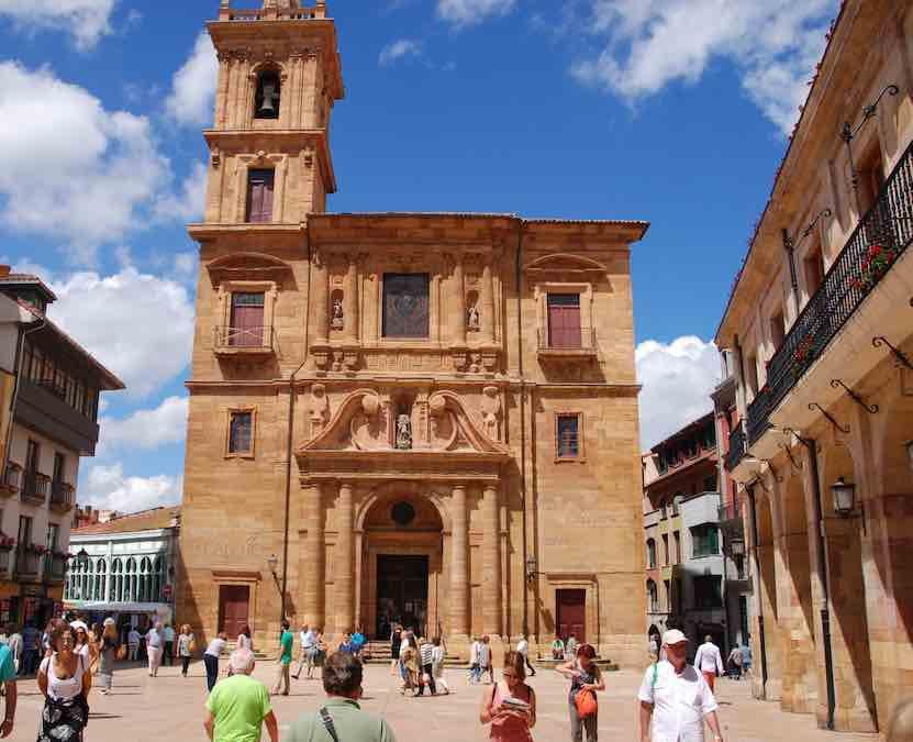 De Kathedraal van Oviedo