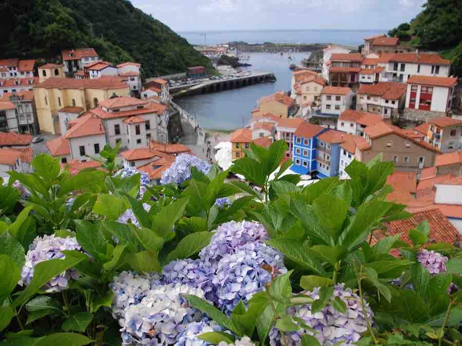 Vissersdorpje in Asturië