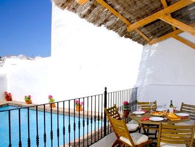 Huis met zwembad in hartje Vejer de la Frontera, Costa de la luz