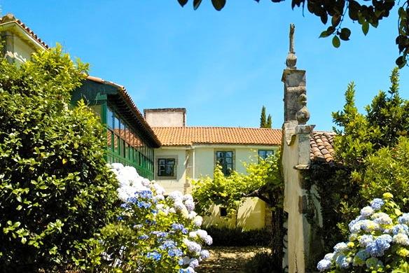 Pazo bij Santiago de Compostela, Galicië