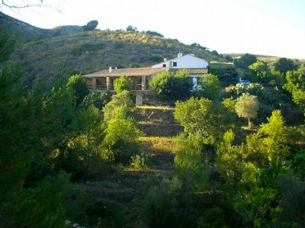 Eco-lodge in de Sierra de Bernia, Valencia
