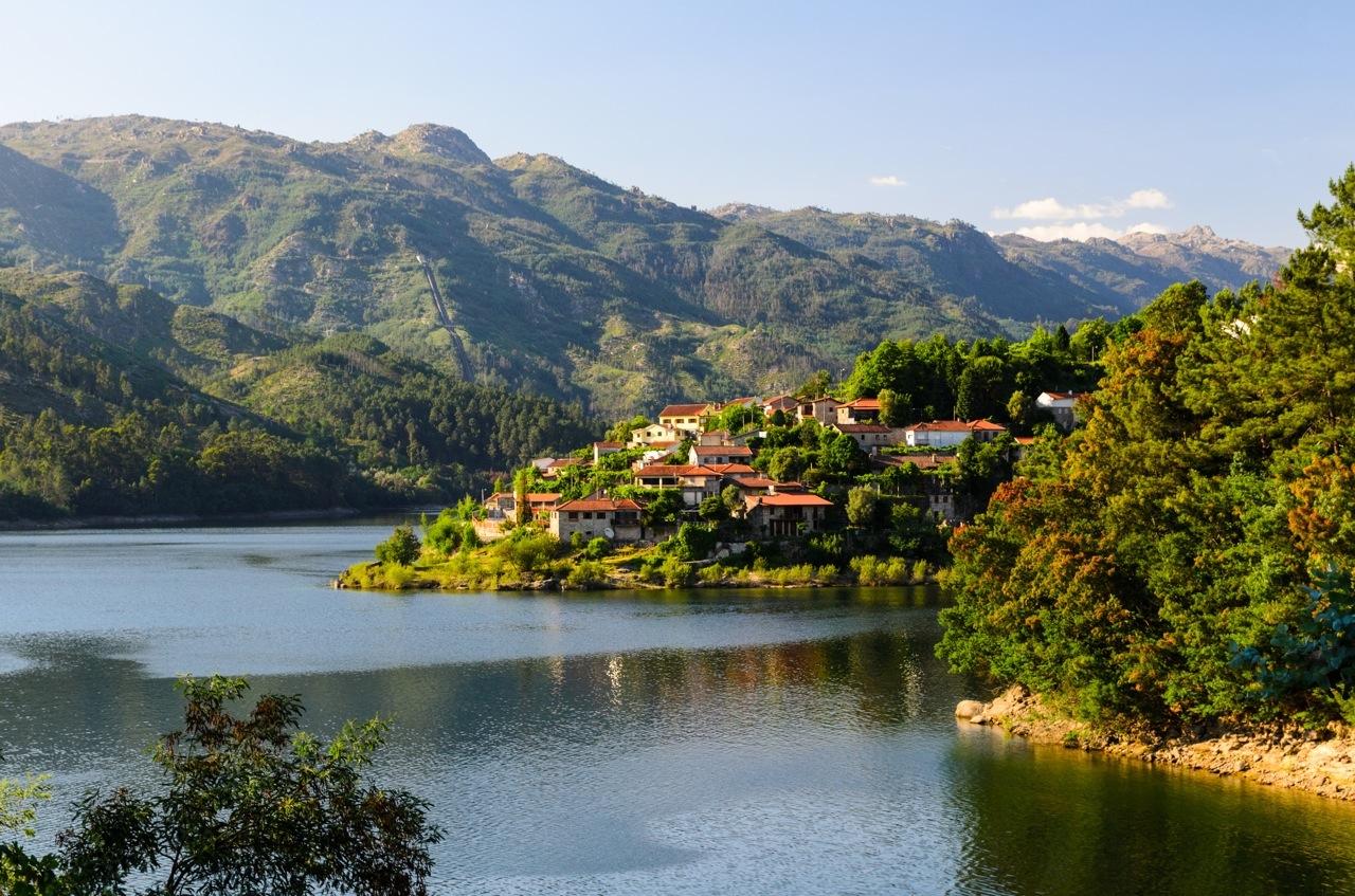 Peneda Geres in Noor Portugal