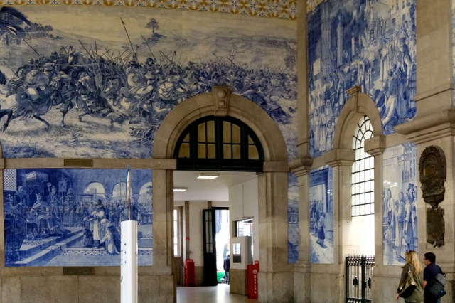 Treinstation Porto