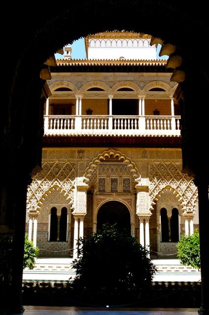 Het Alcazar in Sevilla