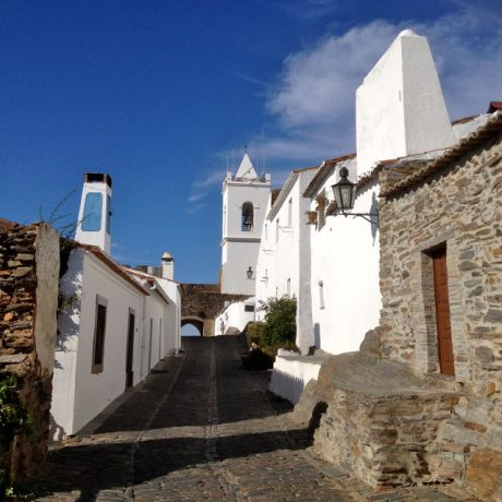 Monsaraz, vestingstadje aan de grens met Spanje
