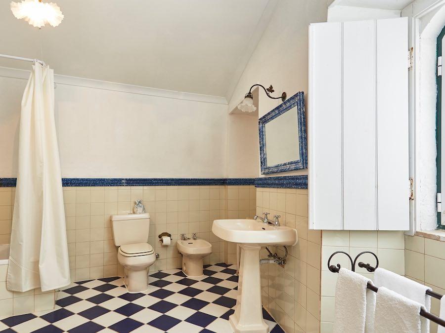 Badkamer van Casa Matilde (6 pax)