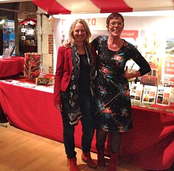 Ellen van der Woude (l) en Anne Middelkamp (r)