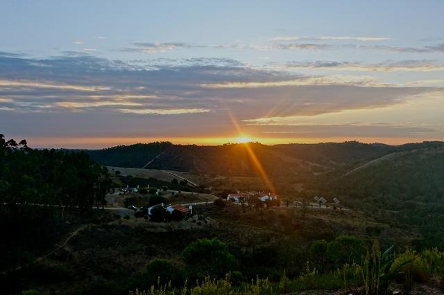 De zon komt op, Costa Vicentina