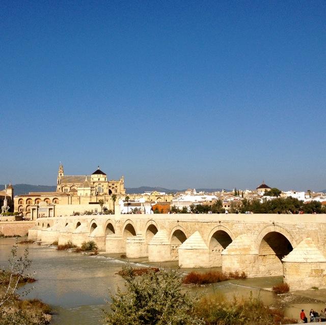 Córdoba, brug over de Guadalquivir