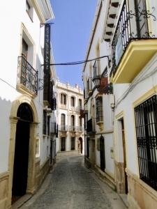 Een straatje in Sevilla