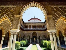 Het Alcázar in Sevilla, Moors erfgoed