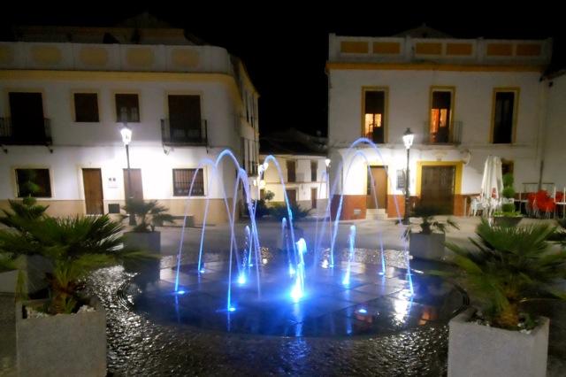 Het dorpsplein van Montejaque