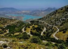 Zicht op het meer van Zahara