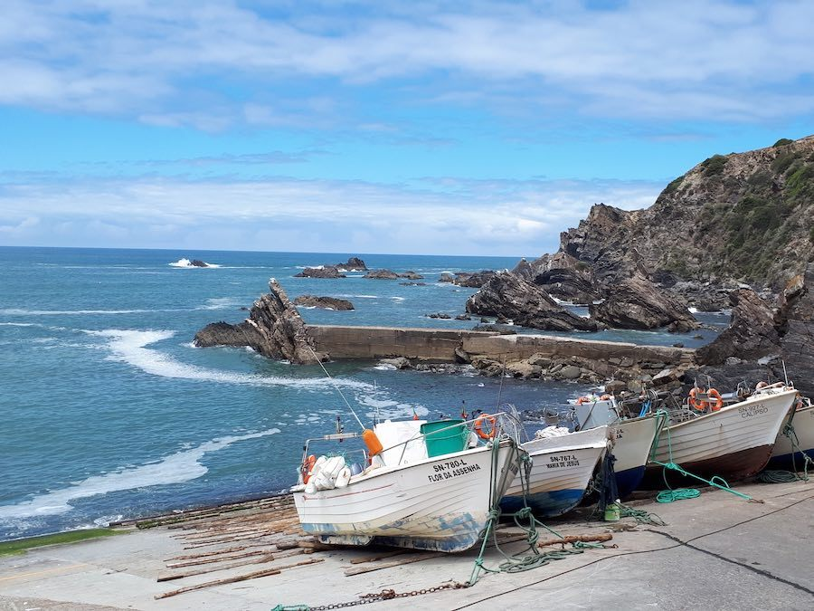 Costa Vicentina: Bij Azenha do Mar