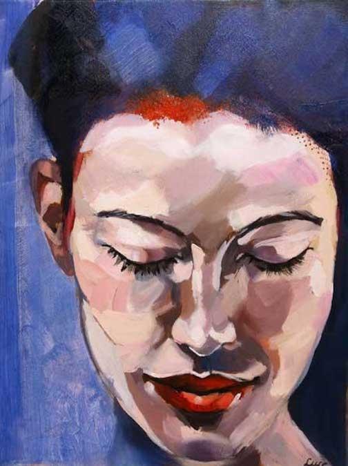 Een van de werken van Lucienne Frijns