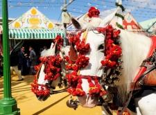 Feria del Caballo in Jerez in mei