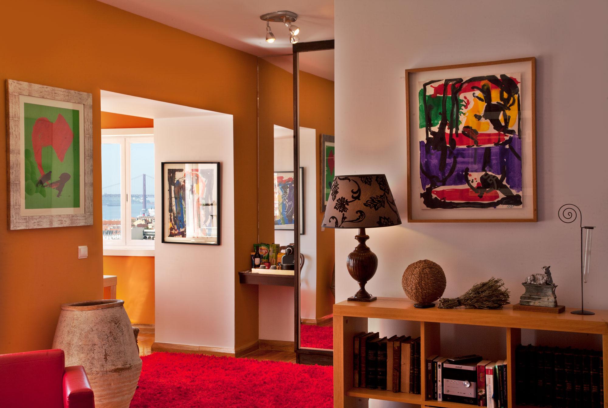 Suite met zicht op de rivier, 2e etage