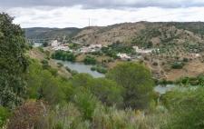 In het zuiden van de Alentejo, de Guadiana rivier
