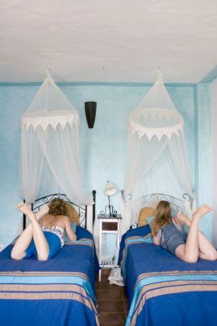 Slaapkamer maisonette appartement Zahora
