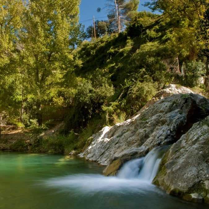 Waterval bij Bocairent