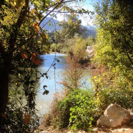 Een meertje nabij Ronda