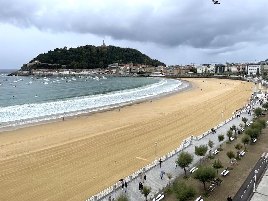 San Sebastián aan de Concha Baai