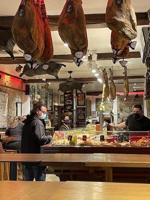 Pinxtos bar in San Sebastián